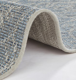 Bougari Vintage Vloerkleed - Java Choy Blauw Taupe