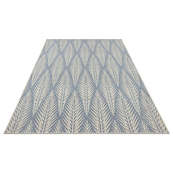 Bougari Bohemian Vloerkleed - Java Pella Taupe Blauw