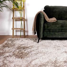 Antoin Carpets Hoogpolig vloerkleed - Love Shaggy Beige
