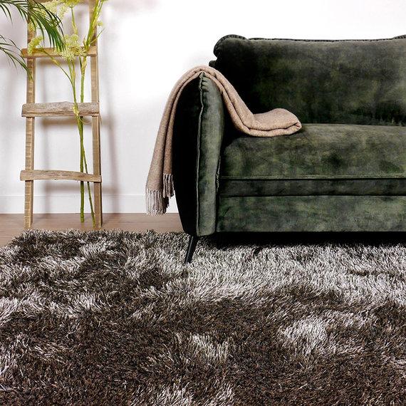 Antoin Carpets Hoogpolig vloerkleed - Love Shaggy Taupe