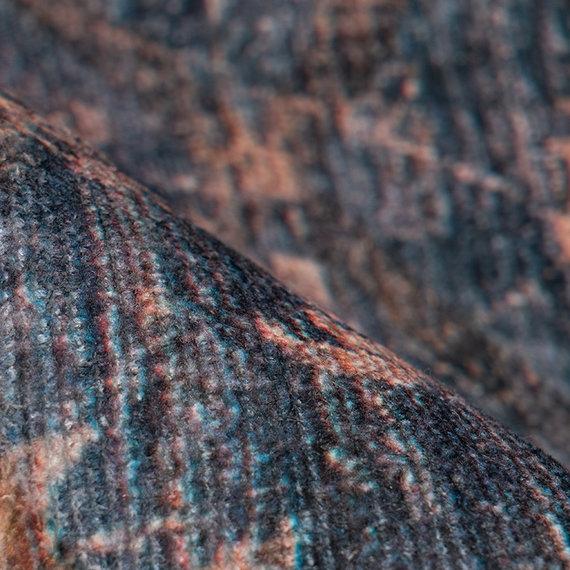 Kay Vintage vloerkleed - Antica 225 Blauw Goud