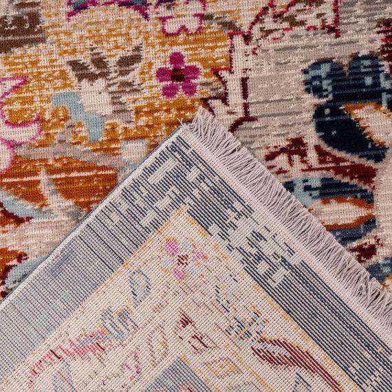 Kay Vintage vloerkleed - Arira 1025 Wit Blauw