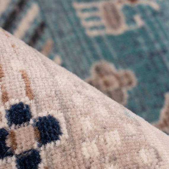 Kay Vintage vloerkleed - Arira 525 Bruin Blauw
