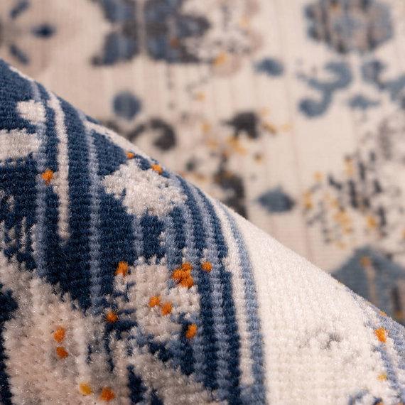Kay Vintage vloerkleed - Arira 925 Multi Blauw
