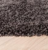 FRAAI Hoogpolig vloerkleed - Glazy Antraciet
