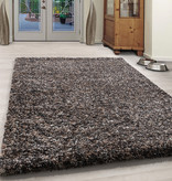 Adana Carpets Hoogpolig vloerkleed - Enjoy Taupe