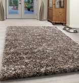 Adana Carpets Hoogpolig vloerkleed - Enjoy Beige