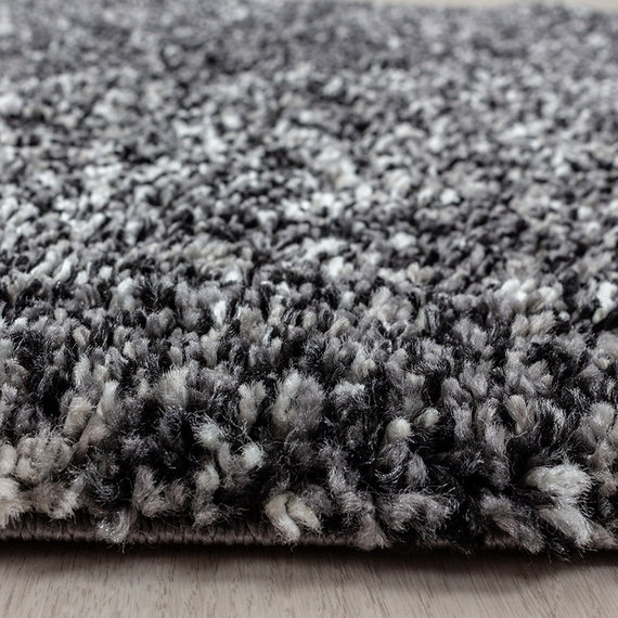 Adana Carpets Hoogpolig vloerkleed - Enjoy Antraciet