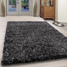 Adana Carpets Hoogpolig vloerkleed - Enjoy Antraciet