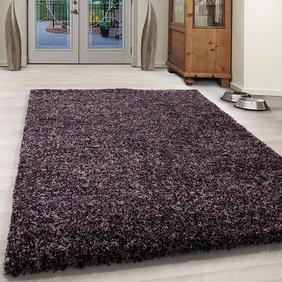 Adana Carpets Hoogpolig vloerkleed - Enjoy Lila