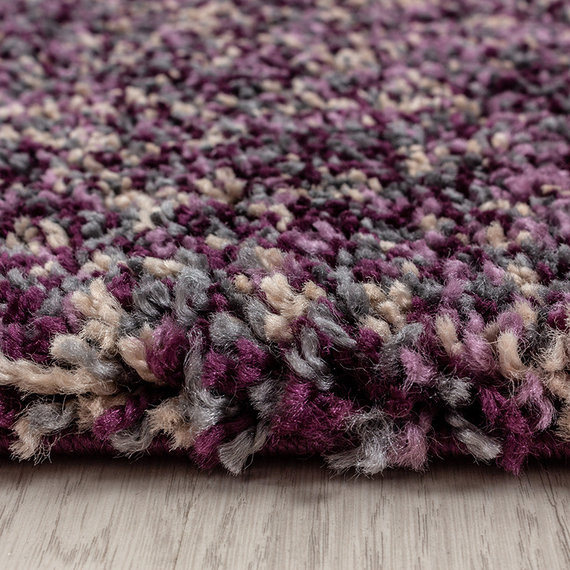 Adana Carpets Hoogpolig vloerkleed - Enjoy Lila