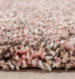 Adana Carpets Hoogpolige loper - Enjoy Rose