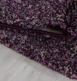 Adana Carpets Hoogpolige loper - Enjoy Lila