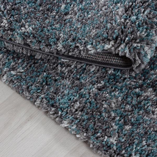 Hoogpolige loper - Enjoy Blauw
