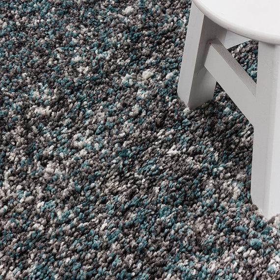 Adana Carpets Hoogpolige loper - Enjoy Blauw