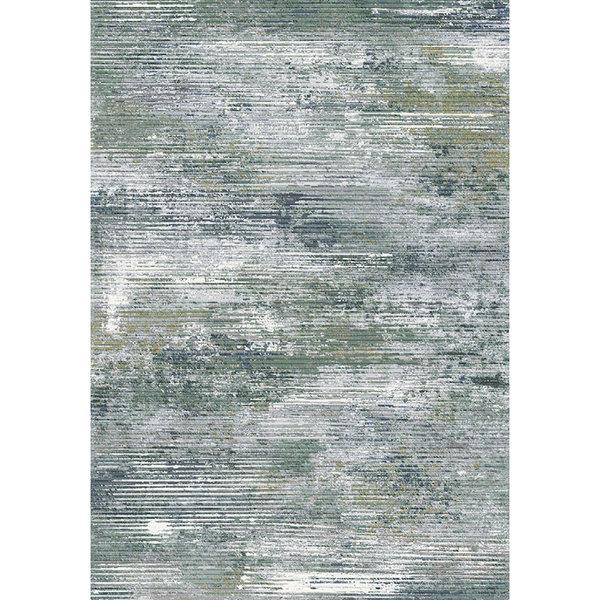 Modern Vloerkleed - Aberdeen Groen/Blauw 9646