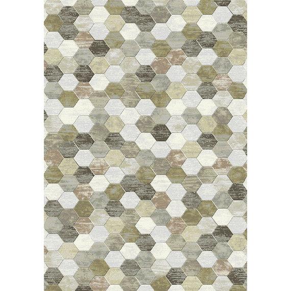 Antoin Carpets Modern Vloerkleed - Amado Beige Bruin 6282
