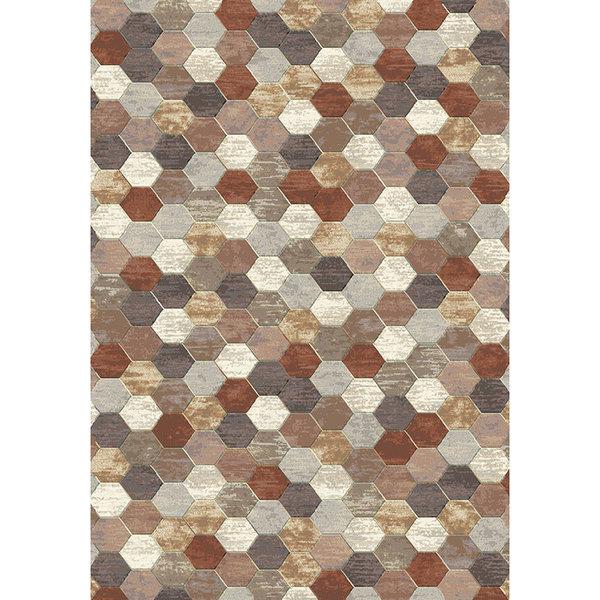 Antoin Carpets Modern Vloerkleed - Amado Rood 4848