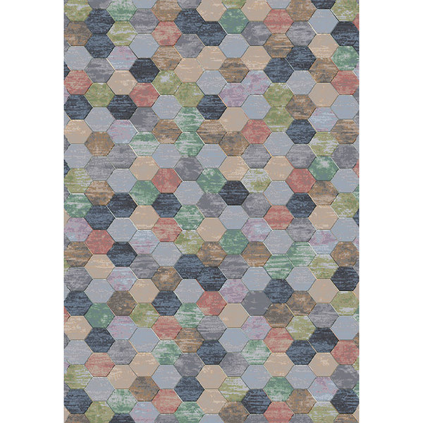 Modern Vloerkleed - Amado Multicolor 2626
