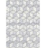 Antoin Carpets Modern Vloerkleed - Apex Licht grijs 6696