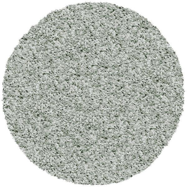 Antoin Carpets Rond Hoogpolig vloerkleed - Twilight Groen 6688