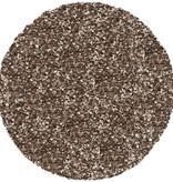 Antoin Carpets Rond Hoogpolig Vloerkleed - Twilight Bruin/Gemeleerd 7722