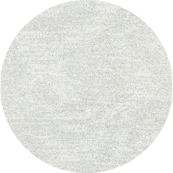 Rond Hoogpolig Vloerkleed - Marshall Licht grijs 6242