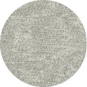 Antoin Carpets Rond Hoogpolig Vloerkleed - Marshall Zilver 6258