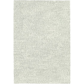 Antoin Carpets Hoogpolig Vloerkleed -  Marshall Wit/Zilver 6248