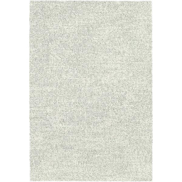 Hoogpolig Vloerkleed -  Marshall Wit/Zilver 6248