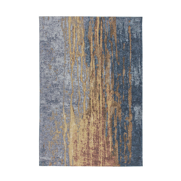 Kay Modern vloerkleed - Bright 300 Beige Blauw