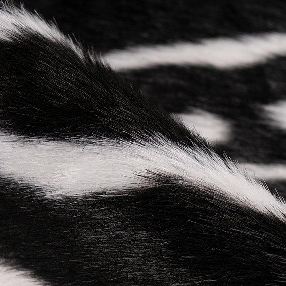 Kay Koeienhuid - Desert Zeebra Zwart Wit