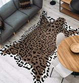 Kay Imitatie koeienhuid - Desert Cheetah Bruin