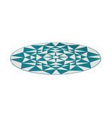 Kay Rond modern vloerkleed - Espera 925 Turquoise