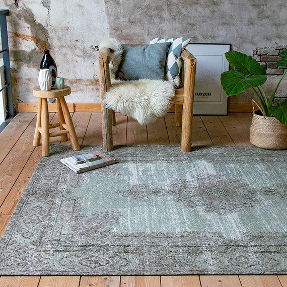 FRAAI Vintage vloerkleed - Dreams Groen/Grijs