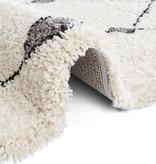 Mint Rugs Hoogpolig vloerkleed - Allure Create Creme