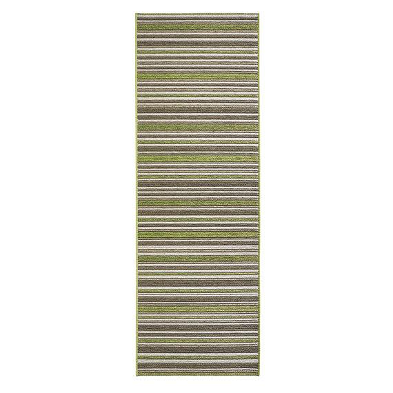 Bougari Moderne loper - Lotus Bamboo Groen Bruin