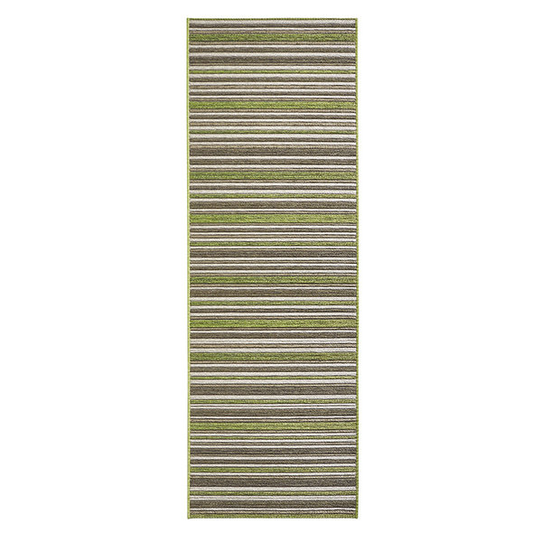 Moderne loper - Lotus Bamboo Groen Bruin