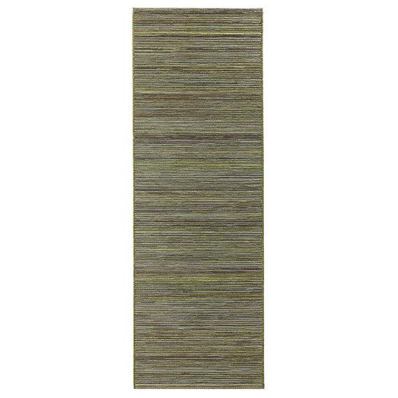 Bougari Moderne loper - Lotus Groen