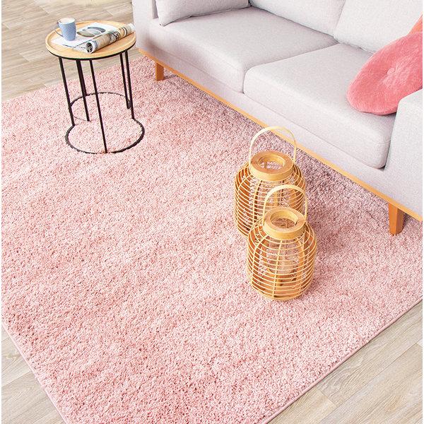 Hoogpolig vloerkleed - Lofty Roze