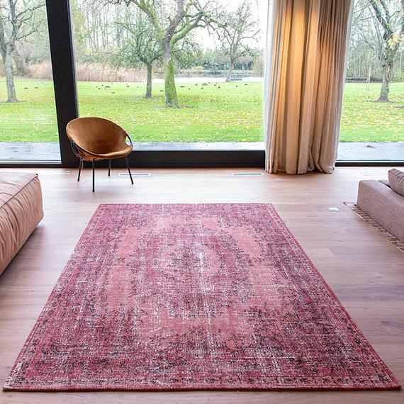 Louis de Poortere Vintage vloerkleed - Palazzo 9141 Rood