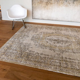 Louis de Poortere Vintage vloerkleed - Palazzo 9137 Beige