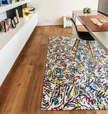 Louis de Poortere Modern Vloerkleed - Gallery Street Graph 9144