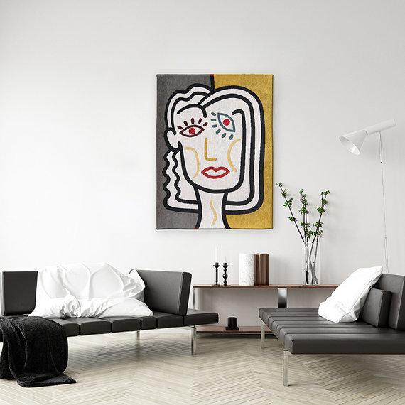 Louis de Poortere Modern Vloerkleed - Gallery Dorado 9143