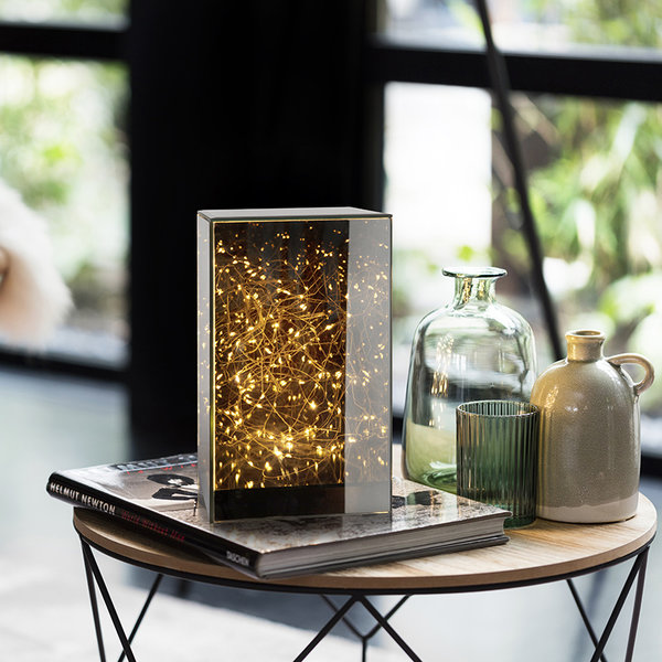 Lifa Living Tafel LED Lamp - Vera Spiegelglas