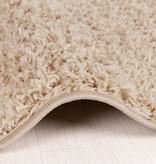 FRAAI Hoogpolig vloerkleed - Solid Beige