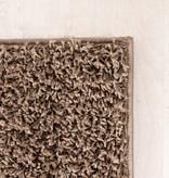 FRAAI Hoogpolig vloerkleed - Solid Taupe
