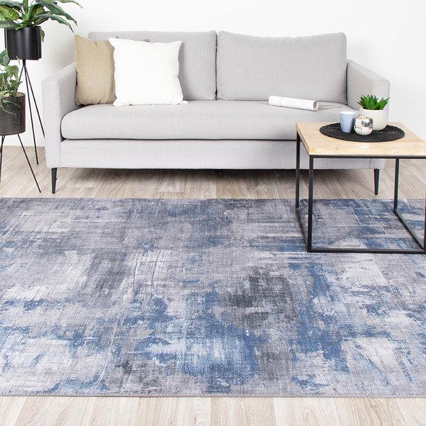 Modern vloerkleed - Strength Blauw