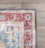 FRAAI Vintage vloerkleed - Azara Blauw Rood