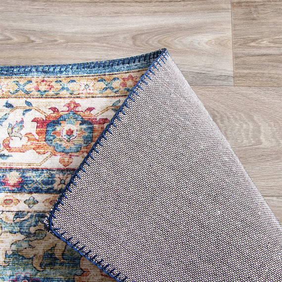 FRAAI Vintage vloerkleed - Azara Lichtblauw